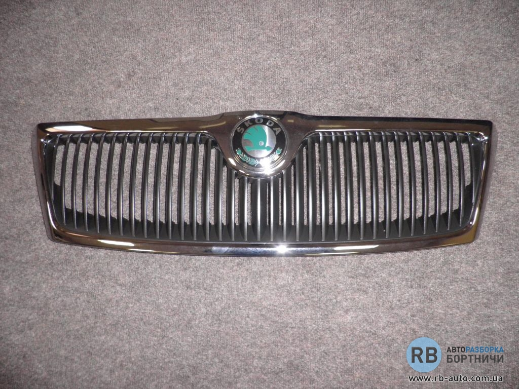 решетка радиатора хромированная skoda octavia а5